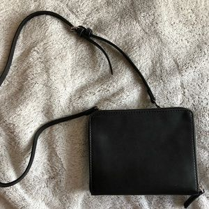 Zara Black & Clear Clutch